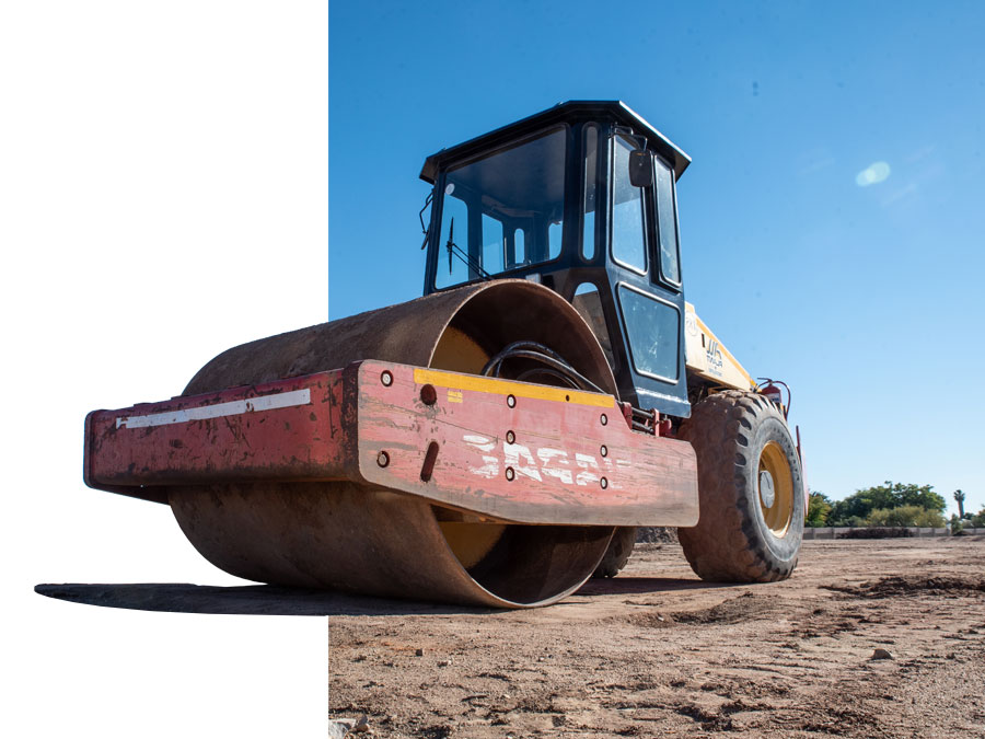 Vibrating Rollers (2.6 to 12 Tons)   All Plant Hire Northern Cape & Western Cape