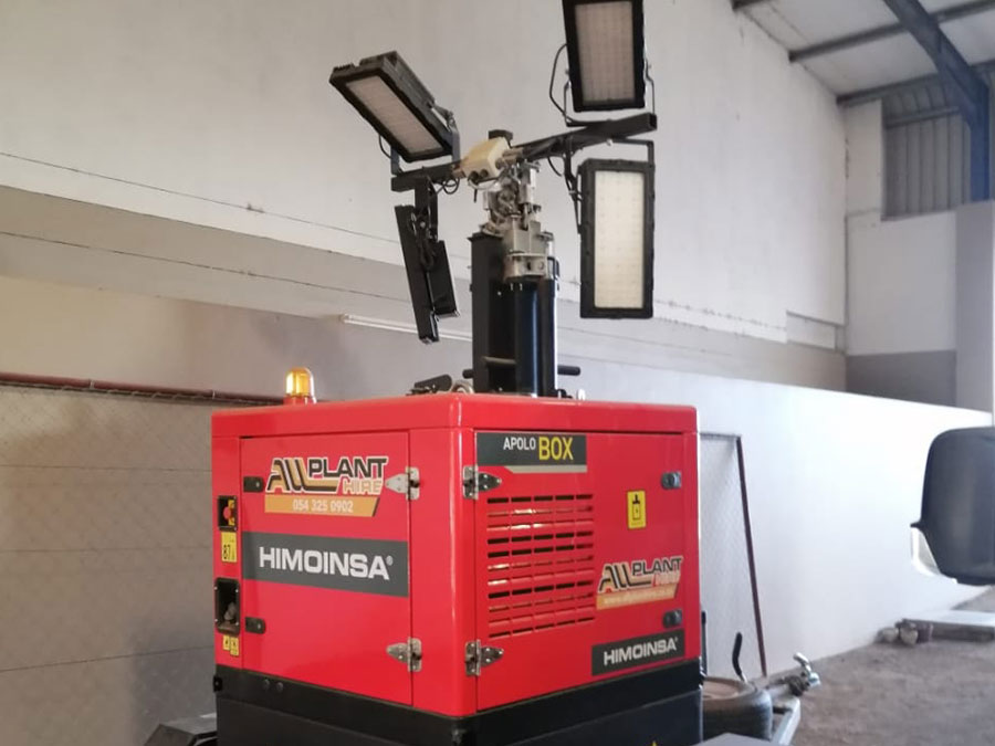 Essential Lighting | All Plant Hire Northern Cape & Western Cape