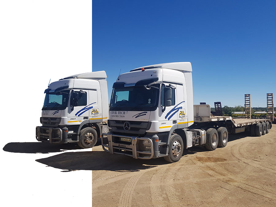 Lowbeds   Plant Hire   All Plant Hire Northern Cape & Western Cape