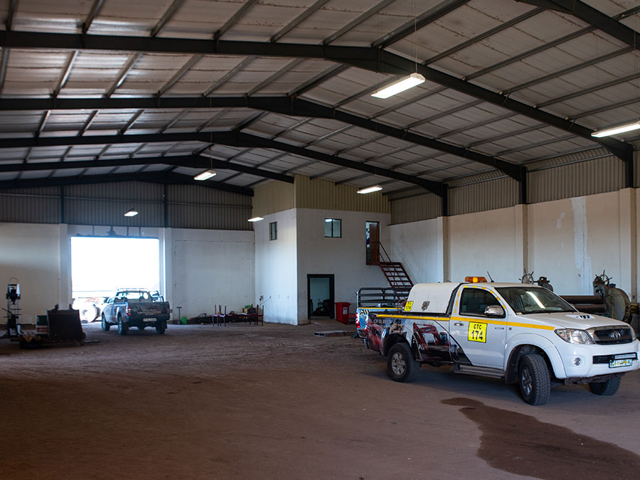 Plant Service Workshop | All Plant Hire Northern Cape & Western Cape