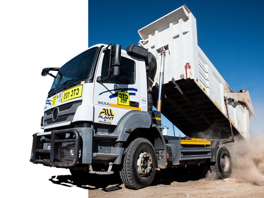 Tipper Trucks (10 Cube)   Plant Hire   All Plant Hire Northern Cape & Western Cape