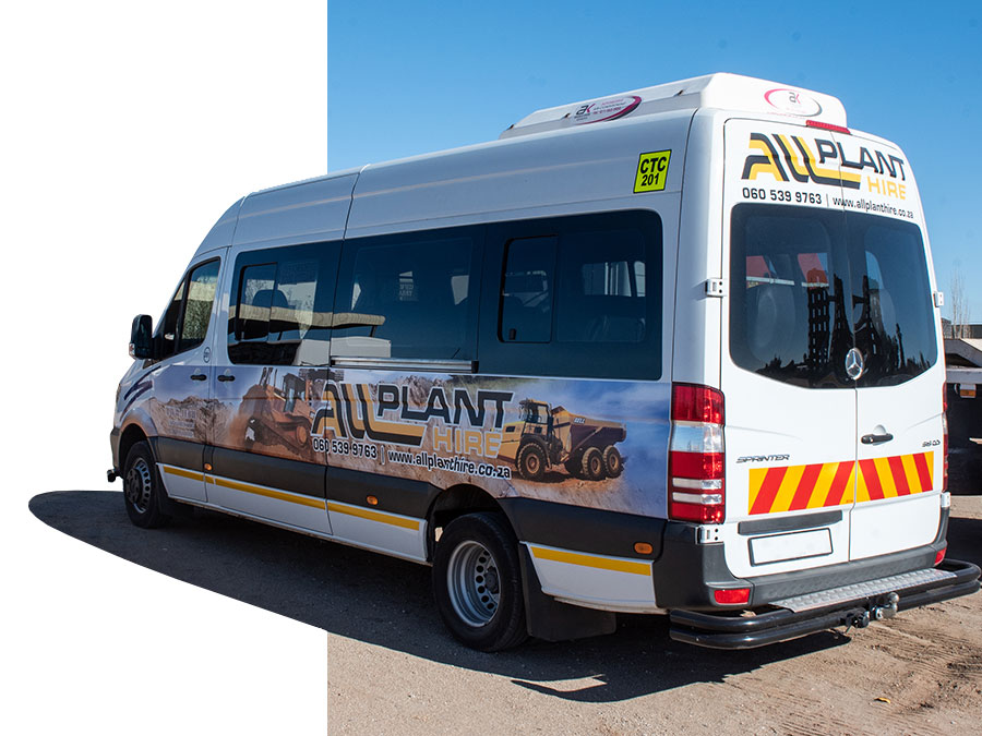 Transport Busses   Plant Hire   All Plant Hire Northern Cape & Western Cape